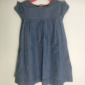 MINI BODEN Brand Thin Denim Dress!!! SIZE 5-6yrs.